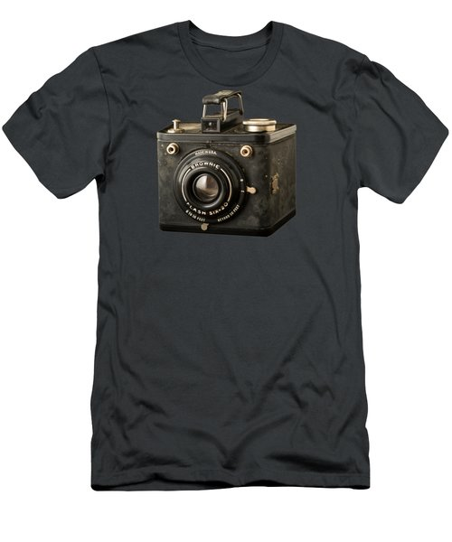 Classic Vintage Kodak Brownie Camera Tee Men's T-Shirt (Athletic Fit)