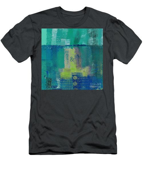 Men's T-Shirt (Slim Fit) featuring the digital art Classico - S03c04 by Variance Collections