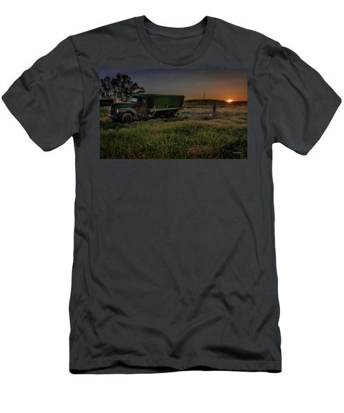 Clear Morning Sunrise Men's T-Shirt (Athletic Fit)