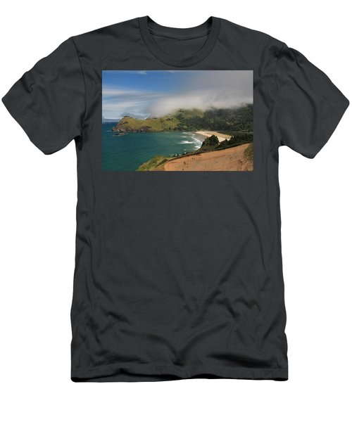 Clearing Fog Along The Oregon Coast Men's T-Shirt (Athletic Fit)