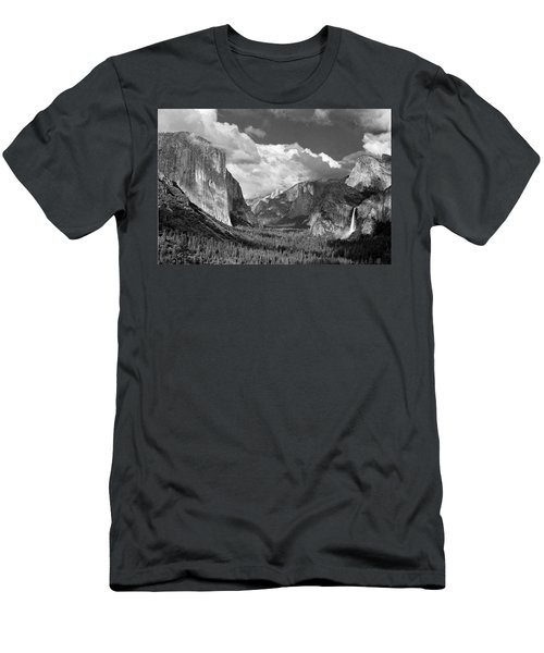 Clearing Skies Yosemite Valley Men's T-Shirt (Athletic Fit)