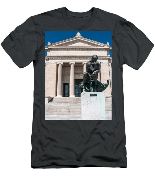Cleveland Museum Of Art, The Thinker Men's T-Shirt (Athletic Fit)