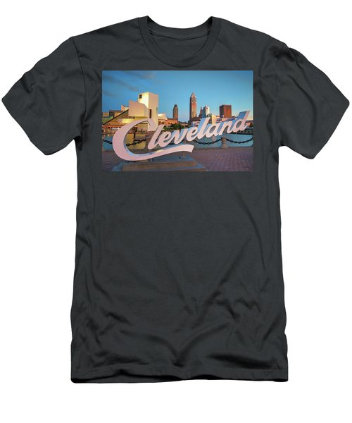 Cleveland's North Coast Men's T-Shirt (Athletic Fit)