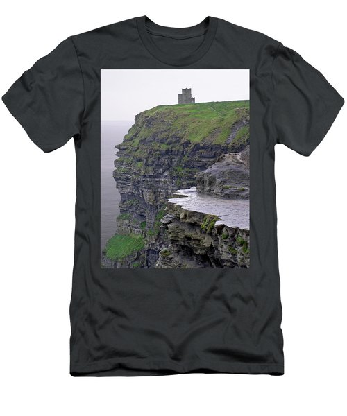 Cliffs Of Moher Ireland Men's T-Shirt (Athletic Fit)