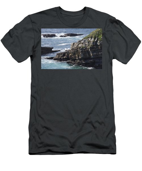 Cliffs Overlooking Donegal Bay Men's T-Shirt (Athletic Fit)