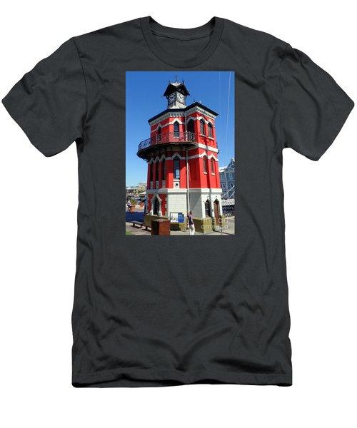 Clock Tower Cape Town Men's T-Shirt (Slim Fit) by John Potts