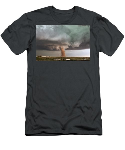 Close Call Men's T-Shirt (Athletic Fit)