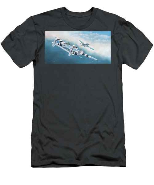Close Encounter With A Focke-wulf Men's T-Shirt (Athletic Fit)