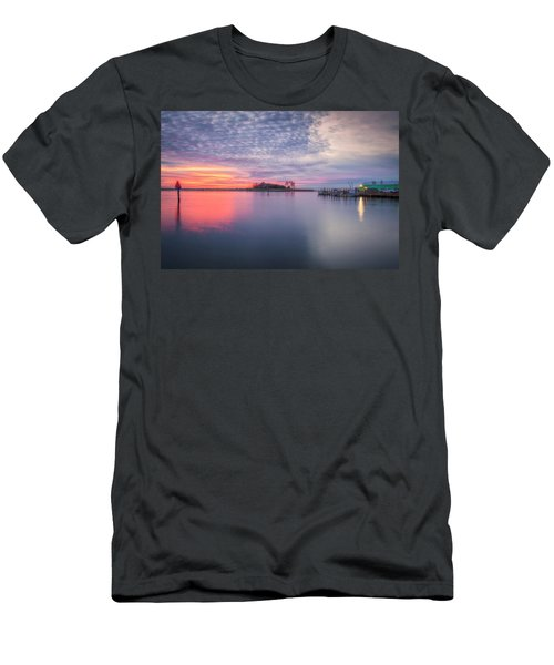 Close Of The Evening Men's T-Shirt (Slim Fit) by David Cote