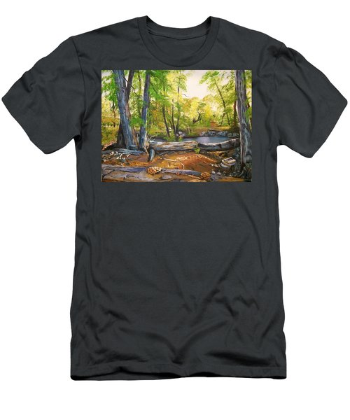 Close To God's Nature Men's T-Shirt (Athletic Fit)