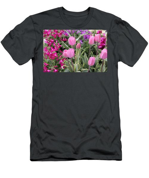 Close Up Mixed Planter Men's T-Shirt (Athletic Fit)
