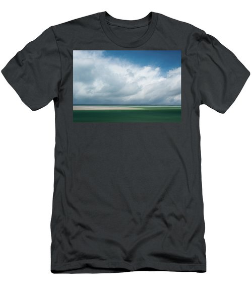 Cloud Bank Over Chatham Men's T-Shirt (Athletic Fit)