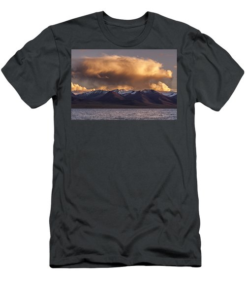 Cloud Over Namtso Men's T-Shirt (Athletic Fit)