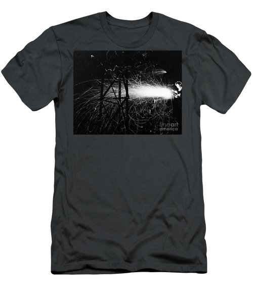 Men's T-Shirt (Athletic Fit) featuring the photograph Cloud Seeding, 1948 by Granger