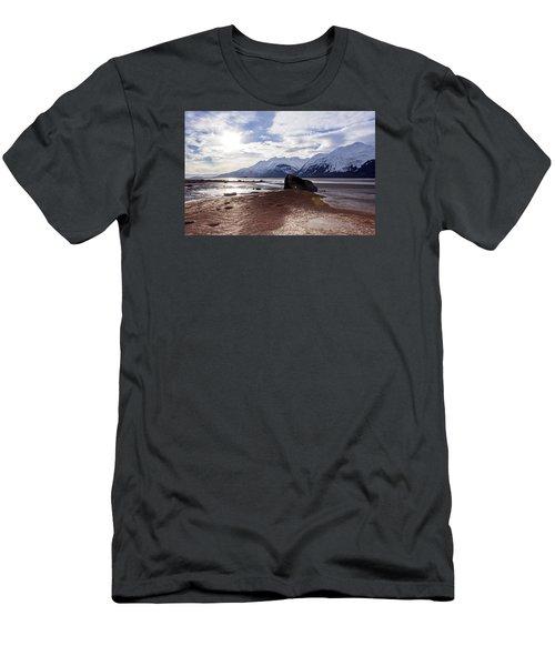 Cloud Shadows At Low Tide. Men's T-Shirt (Slim Fit) by Michele Cornelius