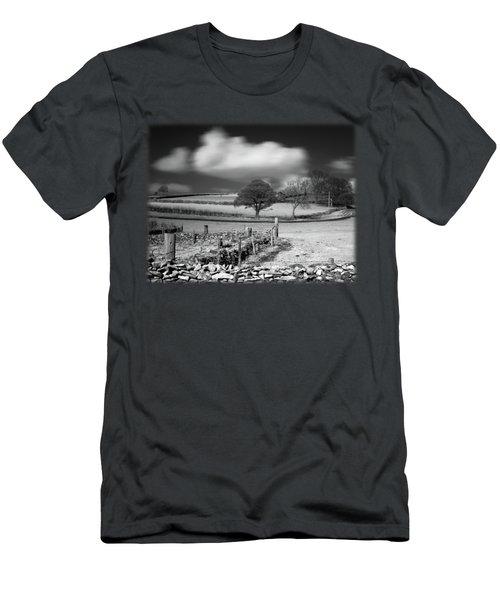 Cloud Wall Men's T-Shirt (Athletic Fit)