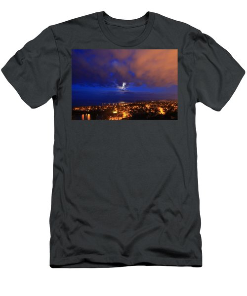 Clouded Eclipse Men's T-Shirt (Athletic Fit)