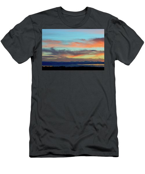 Clouds At Different Altitudes  Men's T-Shirt (Athletic Fit)