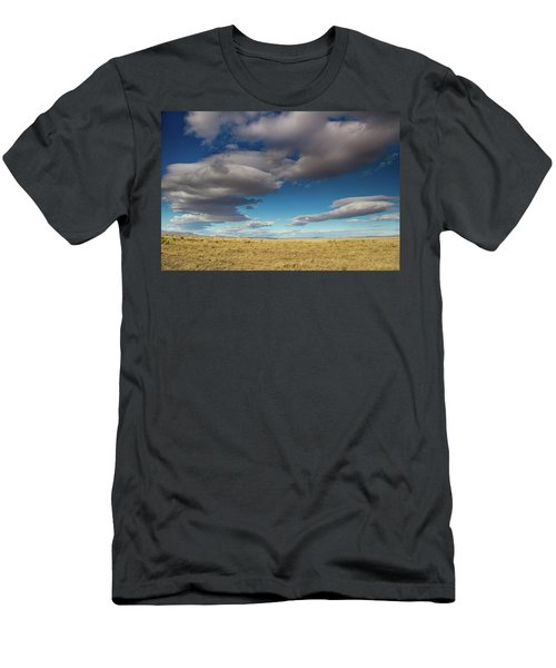 Clouds In Fields Oregon Men's T-Shirt (Athletic Fit)