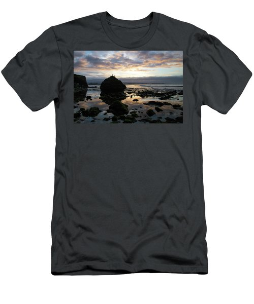 Men's T-Shirt (Athletic Fit) featuring the photograph Clouds In The Sea by Lora Lee Chapman