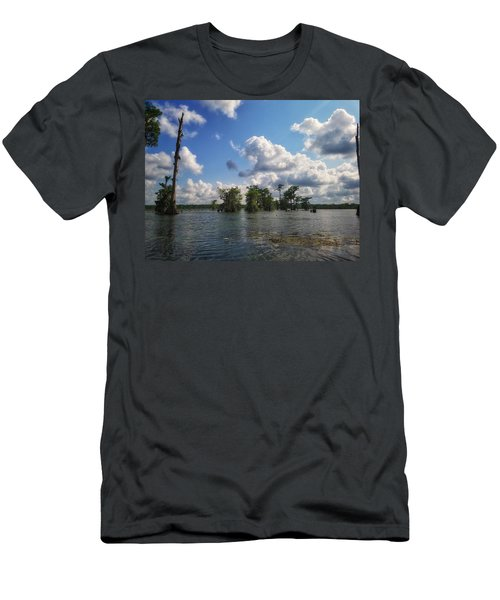 Clouds Over The Louisiana Bayou Men's T-Shirt (Athletic Fit)