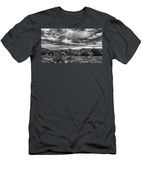 Clouds Over The Superstitions Men's T-Shirt (Athletic Fit)