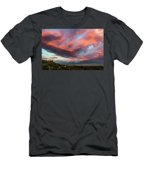 Clouds Over Warner Springs Men's T-Shirt (Athletic Fit)
