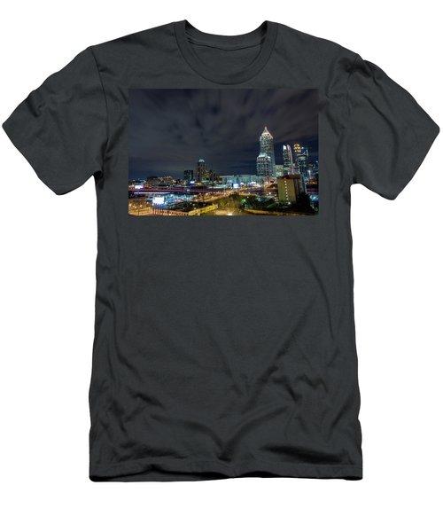 Cloudy City Men's T-Shirt (Athletic Fit)
