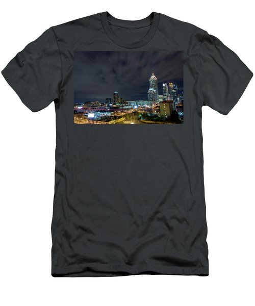 Cloudy City Men's T-Shirt (Athletic Fit)