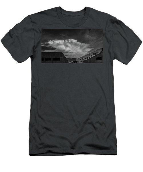 Cloudy Sky Over Bolzano Men's T-Shirt (Athletic Fit)