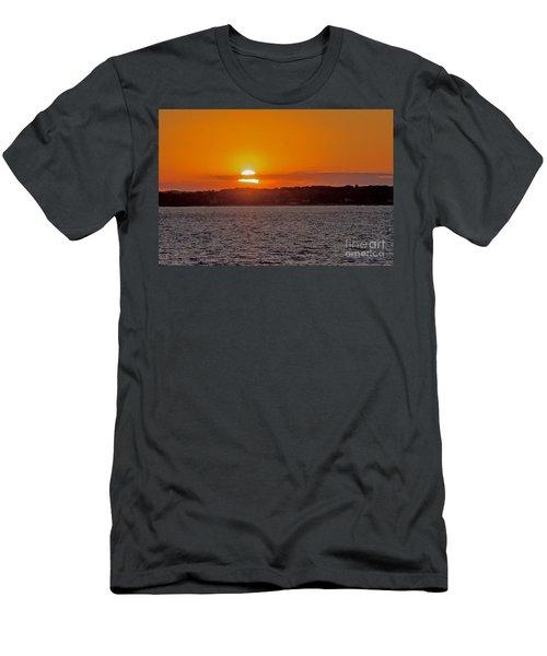Cloudy Sunset Men's T-Shirt (Athletic Fit)
