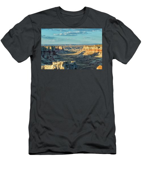 Coal Mine Canyon Men's T-Shirt (Slim Fit) by Tom Kelly