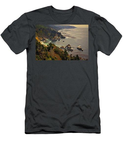 Coast Line Men's T-Shirt (Athletic Fit)