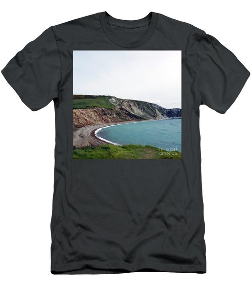 Coastal Arch Men's T-Shirt (Slim Fit) by Sebastian Mathews Szewczyk
