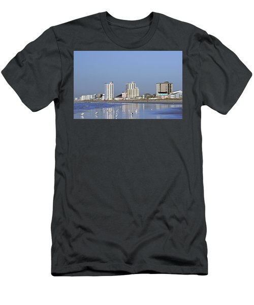 Coastal Architecture Men's T-Shirt (Athletic Fit)