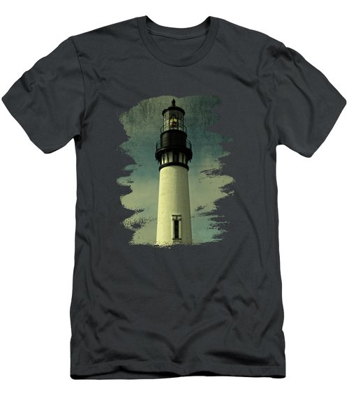 Coastal Breeze At Yaquina Head Men's T-Shirt (Athletic Fit)