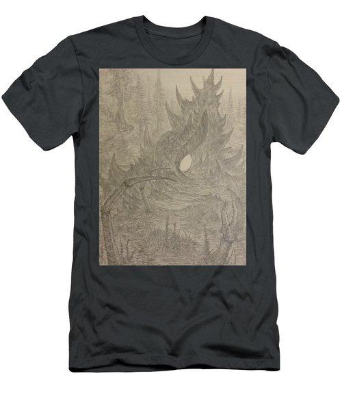 Coastal Castle Men's T-Shirt (Slim Fit) by Corbin Cox