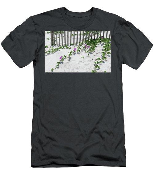 Coastal Flowers Men's T-Shirt (Athletic Fit)