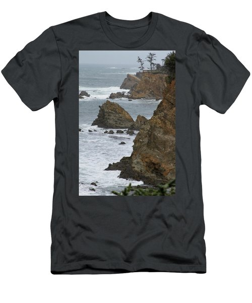 Coastal Storm Men's T-Shirt (Athletic Fit)
