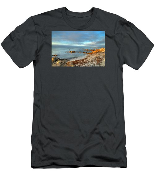 Coastal Sunset Men's T-Shirt (Slim Fit) by Derek Dean