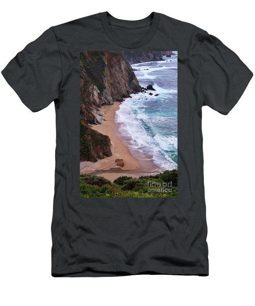 Coastal View At Big Sur Men's T-Shirt (Athletic Fit)