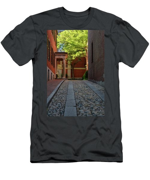 Men's T-Shirt (Athletic Fit) featuring the photograph Cobblestone Drive by Michael Hubley