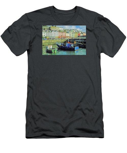 Men's T-Shirt (Slim Fit) featuring the photograph Cobh Harbour by Dennis Cox WorldViews