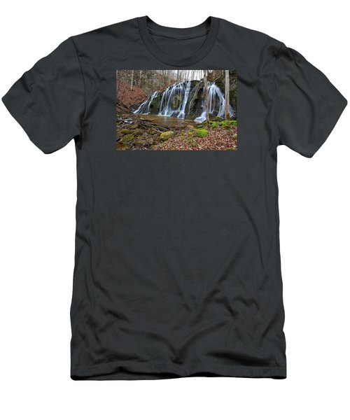 Cobweb Falls Men's T-Shirt (Athletic Fit)