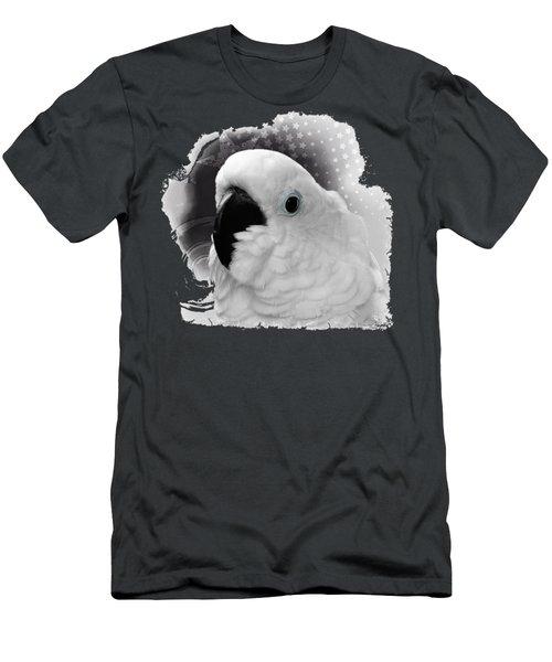 Cockatoo No 02 Men's T-Shirt (Athletic Fit)