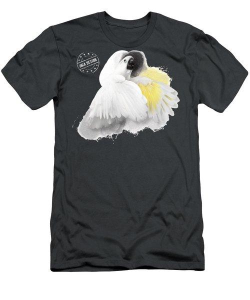 Cockatoo No 03 Men's T-Shirt (Athletic Fit)