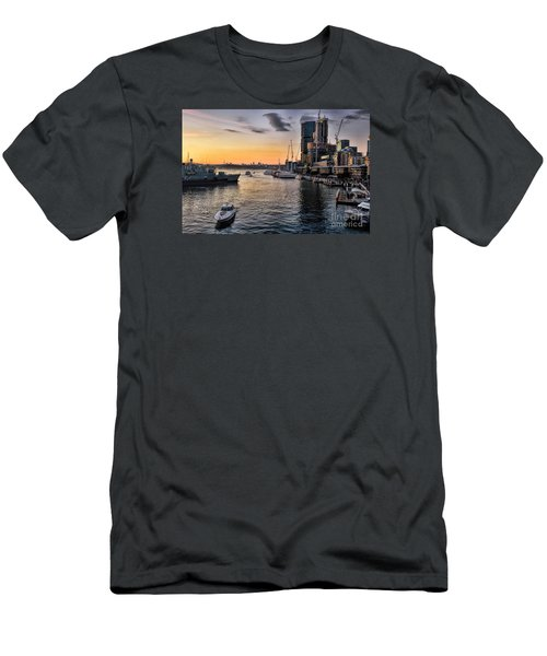 Cockle Bay Wharf Men's T-Shirt (Athletic Fit)