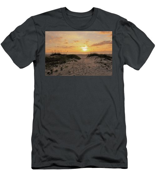 Cocoa Beach Morning Men's T-Shirt (Athletic Fit)