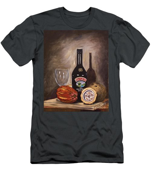 Cocoa Pods Coconut And Irish Cream Men's T-Shirt (Athletic Fit)