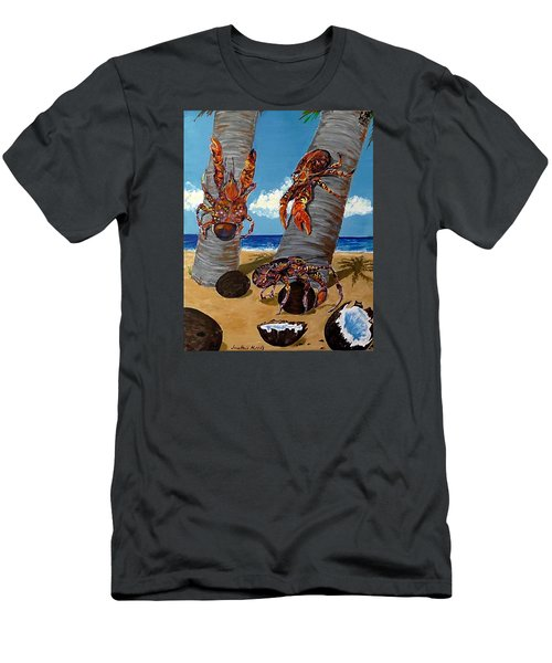 Coconut Crab Cluster Men's T-Shirt (Athletic Fit)